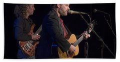 John Gorka And Michael Manring In Concert Hand Towel
