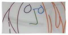 John Lennon Imagine By Peter Virgancz Bath Towel