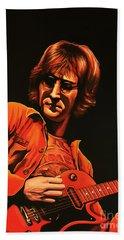 John Lennon Painting Hand Towel
