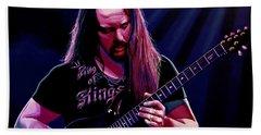 John Petrucci Painting Hand Towel