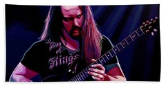 John Petrucci Painting Bath Towel