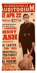 Johnny Cash Hand Towel