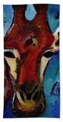 Jolly Giraffe  Hand Towel