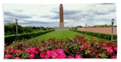 Jones Beach Water Tower Bath Towel by Ed Weidman