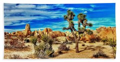 Bath Towel featuring the photograph Joshua Tree by Benjamin Yeager