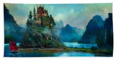 Journeys End Hand Towel by Aimee Stewart