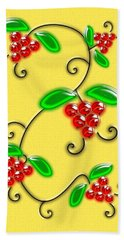 Juicy Berries Hand Towel
