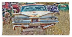 Junkyard Series 1960's Chevrolet Impala Hand Towel