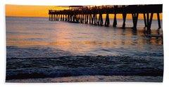 Juno Beach Pier Bath Towel