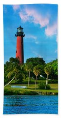 Jupiter Florida Lighthouse Hand Towel