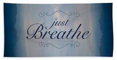 Just Breathe Hand Towel