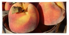 Just Peachy Bath Towel by Joseph Skompski