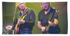 Justin Hayward And John Lodge Hand Towel