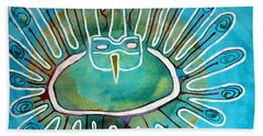 Kachina Was A Dancer Original Painting Hand Towel
