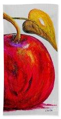 Kaleidoscope Apple -- Or -- Apple For The Teacher  Hand Towel