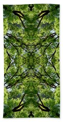 Kaleidoscope - Trees 2 Hand Towel by Andy Shomock