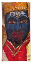Kali Maa - Glance Of Compassion Bath Towel