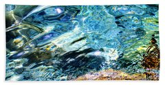 Kanaloa Abstract Hand Towel by David Lawson