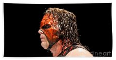 Kane The Wrestler Bath Towel
