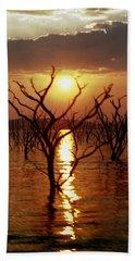 Bath Towel featuring the photograph Kariba Sunset by Jeremy Hayden