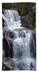 Katahdin Stream Falls Baxter State Park Maine Bath Towel