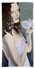 Katie - Morning Cup Of Tea Bath Towel