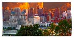 Katrina Storm Hits Cincinnati Bath Towel