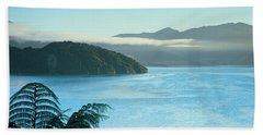 Kenepuru, Marlborough Sound, New Zealand Bath Towel