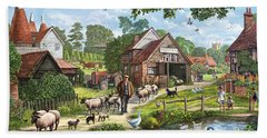 Kentish Farmer Bath Towel
