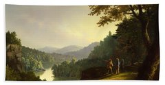 Kentucky Landscape 1832 Bath Towel