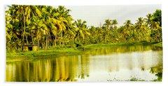 Kerala Backwaters Bath Towel