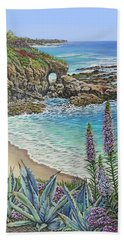 Keyhole Rock Laguna Hand Towel