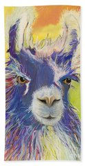 King Charles Hand Towel by Pat Saunders-White