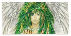 King Crai'riain Portrait Hand Towel
