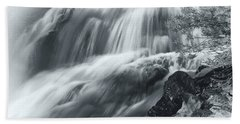 King Creek Falls Hand Towel by Jonathan Nguyen