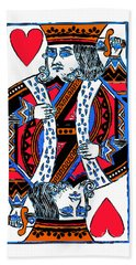 King Of Hearts 20140301 Hand Towel