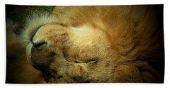 King Of Peace,lion Bath Towel