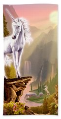 King Of The Valley Hand Towel by Garry Walton