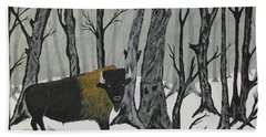 King Of The Woods Hand Towel
