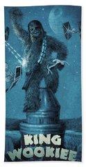 King Wookiee Hand Towel by Eric Fan