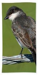 Kingbird On A Wire Hand Towel