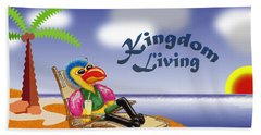 Kingdom Living Hand Towel by Jerry Ruffin