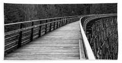 Kinsol Trestle Boardwalk  Hand Towel