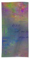 Kiss Of Mist Haiga Hand Towel