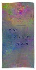 Kiss Of Mist Haiga Bath Towel