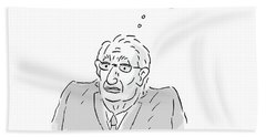 Kissinger Meets Trump Bath Towel