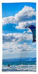 Kitesurfer Hand Towel
