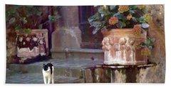 Kitten Italiano Bath Towel by Barbie Corbett-Newmin