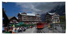 Kleine Schedegg Switzerland Hand Towel