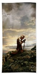 Kneeling Knight Bath Towel